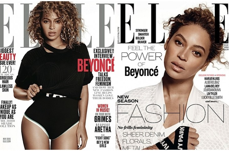 Beyonce Elle magazine cover - The Blues Project