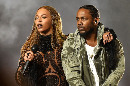 Beyonce and Kendrick Lamar BET Awards 2016 - The Blues Project