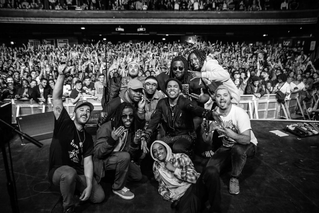 Watch Anderson .Paak & The Internet Perform in London