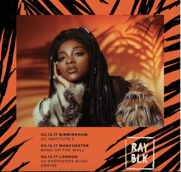 Ray BLK tour