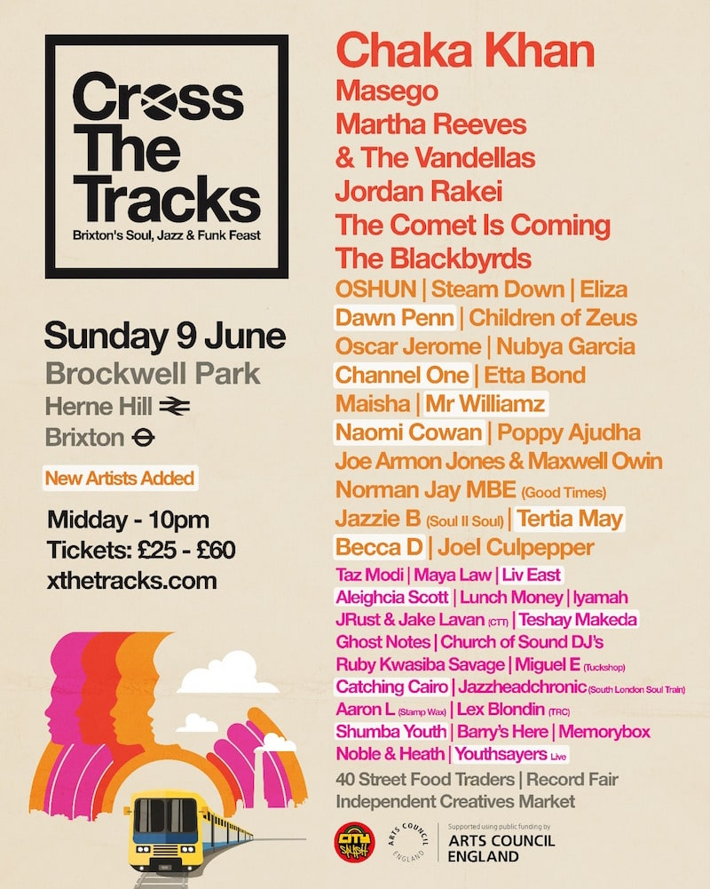 Cross The Tracks Lineup 2019